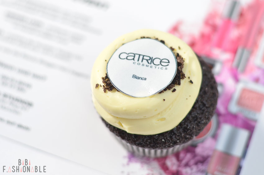 Catrice Event München SS 2016 personalisierter Cupcake