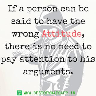 Whatsapp Attitude Status