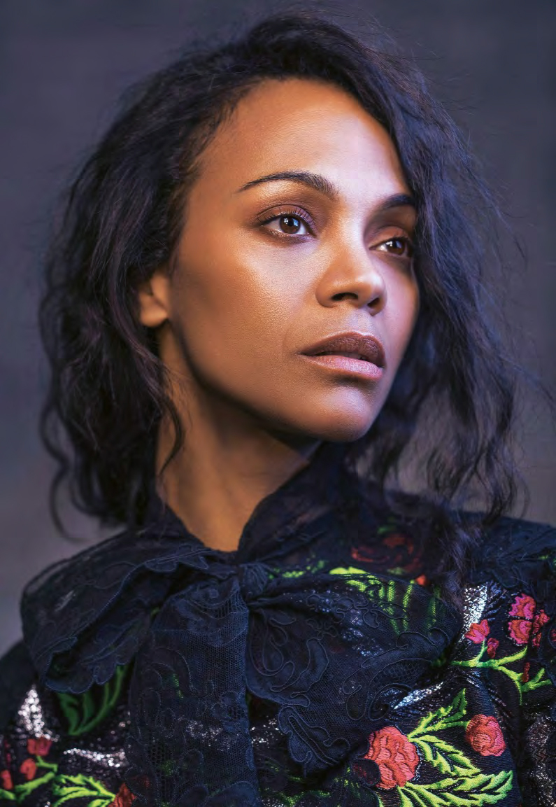 Zoe Saldana in Grazia Italia January 5th, 2017 by Kurt ... Zoe Saldana