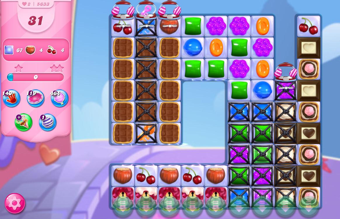 Candy Crush Saga level 5633