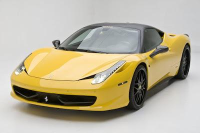 Ferrari 620 GT yellow color