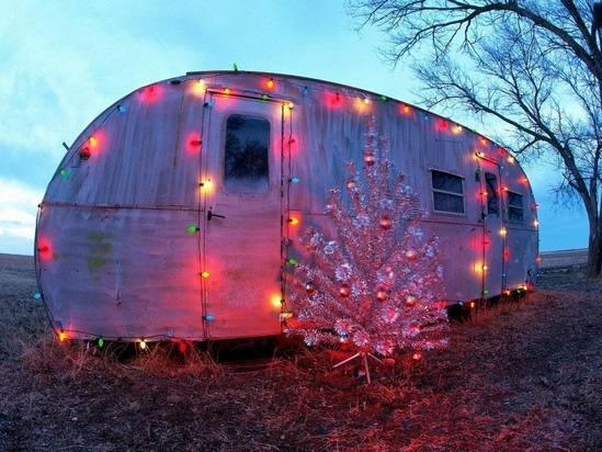 Reaganite independent the very worst of bad christmas for Airstream christmas decoration
