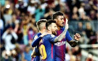 Barcelona Hantam Eibar 6-1