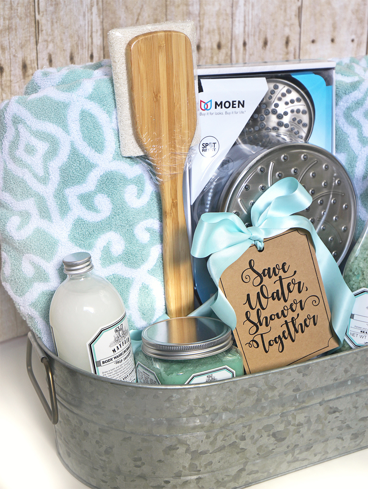 Pre Wedding Gift Basket For Bride : Before I take the gift to the reception, Ill wrap the whole thing up ...