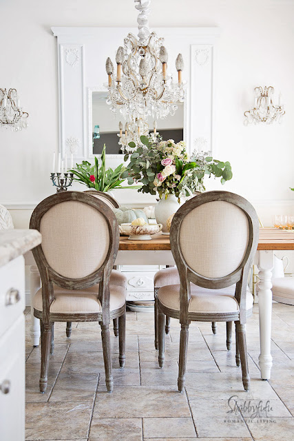 french country dining room louis chairs