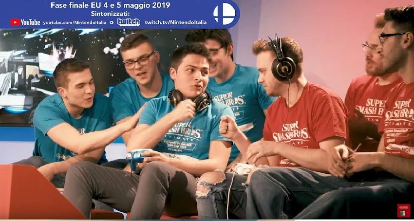 Super Smash Bros. Ultimate European Smash Ball Team Cup 2019 – 4 e 5 maggio, Amsterdam!