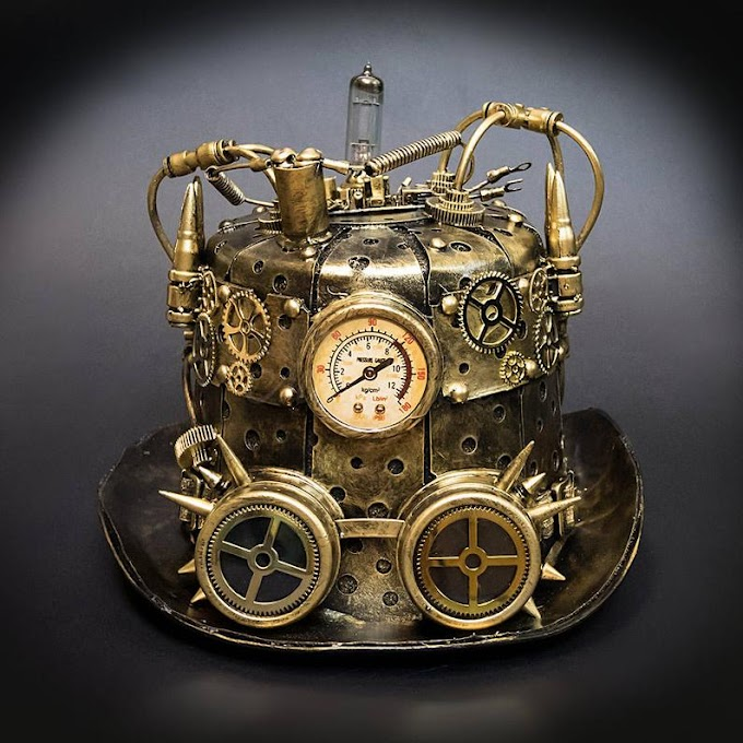 Steampunk Gold Hat