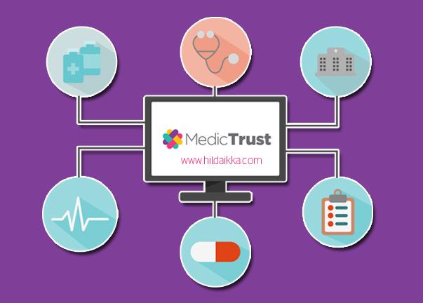 Review Aplikasi Medictrust Cara Praktis Menyimpan Catatan Kesehatan Harianku Cokelat Gosong By Hilda Ikka
