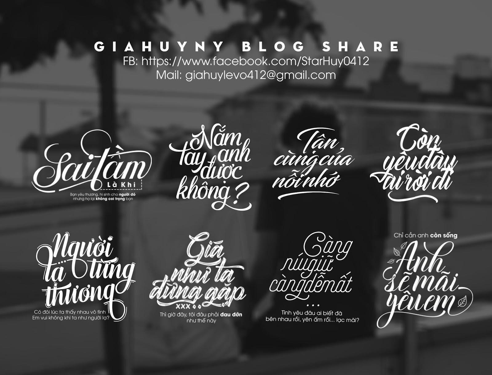[ BIG SHARE ] Chia sẻ một số Typography cực đẹp 2018