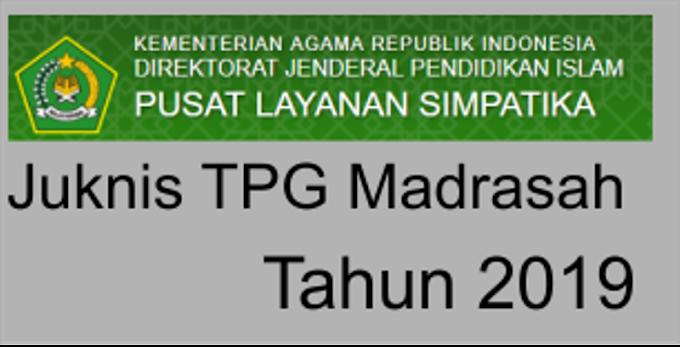 Juknis TPG Madrasah Tahun 2019