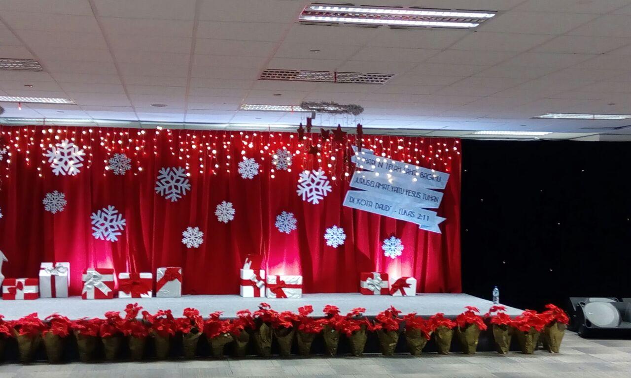50 Dekorasi Natal Panggung Minimalis Unik Dan Modern