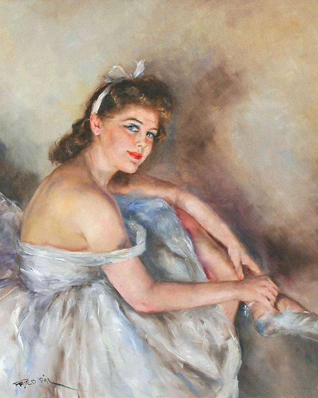 Pal Fried - Pinturas de bailarinas