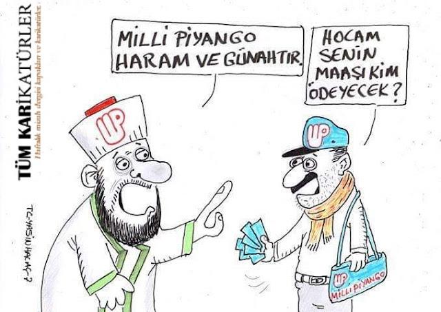 milli piyango haram karikatür