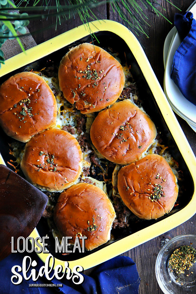 Loose Meat Sliders