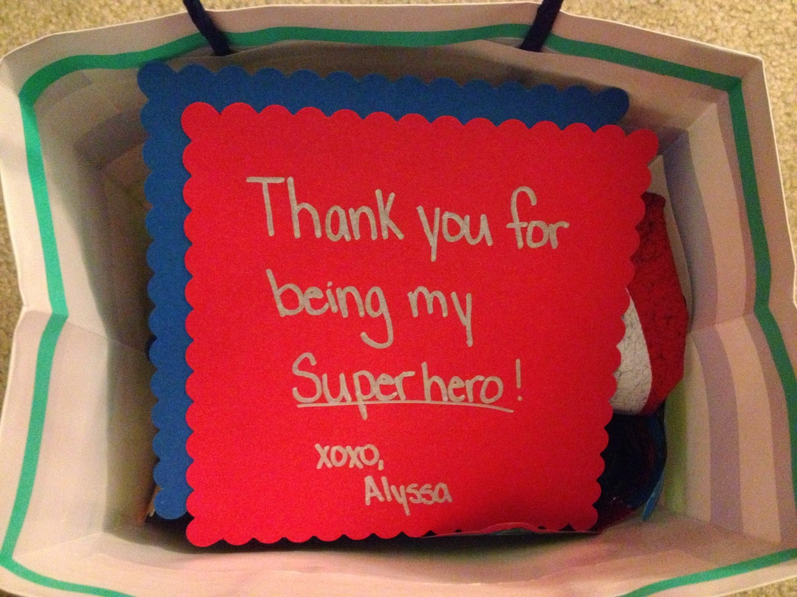 Boyfriend Gift Idea Superhero Edition