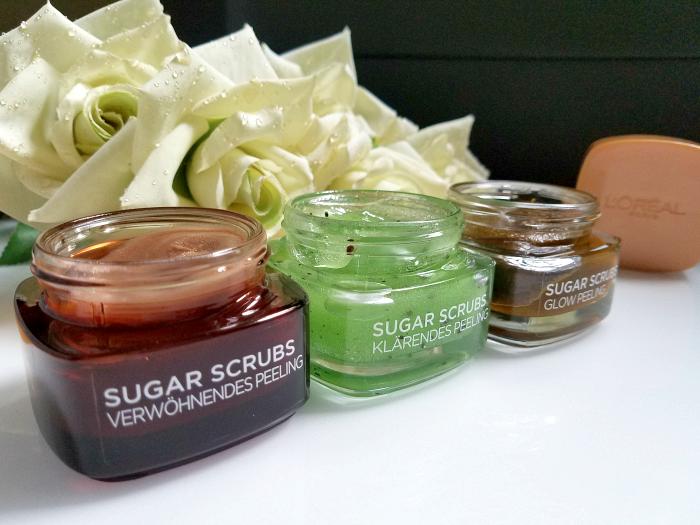 Review: L´Oréal Paris - Sugar Scrubs - Glow Peeling, Verwöhnendes Peeling, Klärendes Peeling für Gesicht und Lippen 2