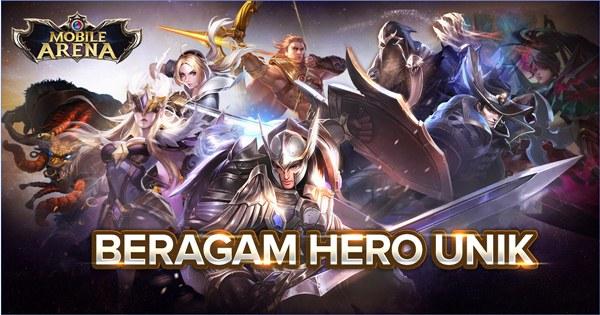 Game Moba dari Garena Terbaru Mobile Arena