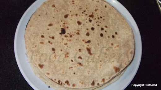 How to make roti, Indian flat bread