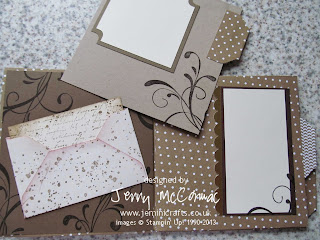 Envelope Punch Board Mini Albums Class Jemini Crafts