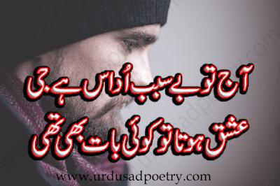 Aaj Tu Be Sabab Udaas Hay Ji