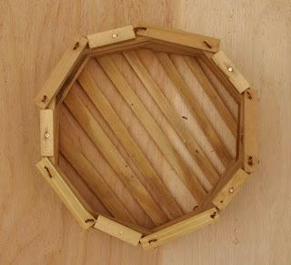 Chậu gỗ tròn kín đáy