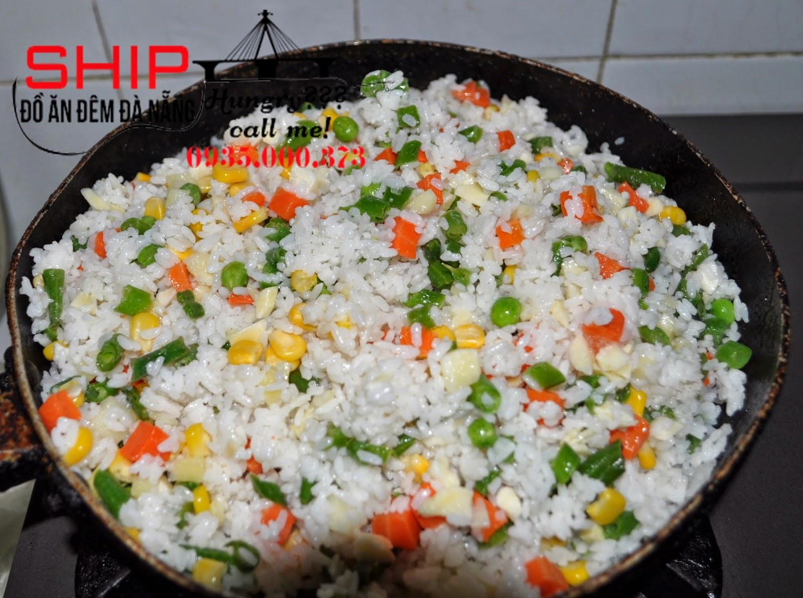 Com chien duong chau - Ship do an dem Da Nang