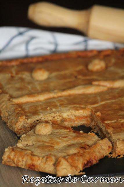 Empanada con masa integral