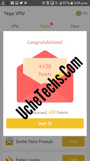 Yoga VPN invitation code