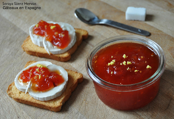 recette confiture tomate