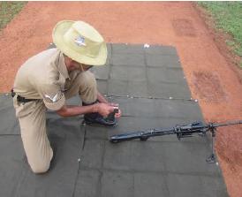 INSAS Rifle ke Magzine ko Bharna