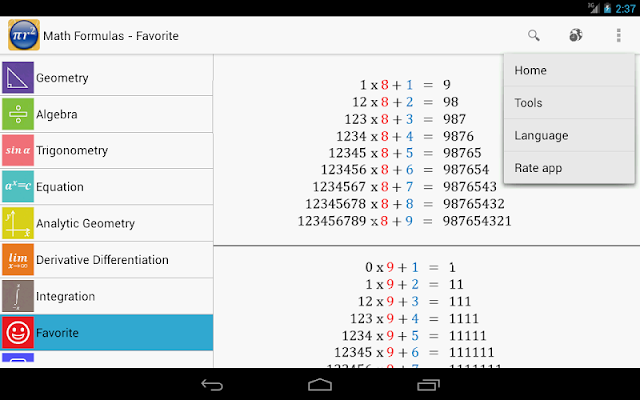 Maths Formulas Mod APK Android App