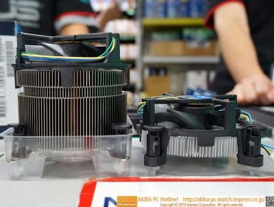 Tinggi Heatsink TS15A 2x Lipat Heatsink Intel Biasanya