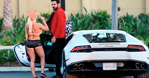 Video de una broma con un Lamborghini y una mujer interesada