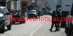 Fuerte operativo en cuartel de policia de Ciudad Mendoza Veracruz