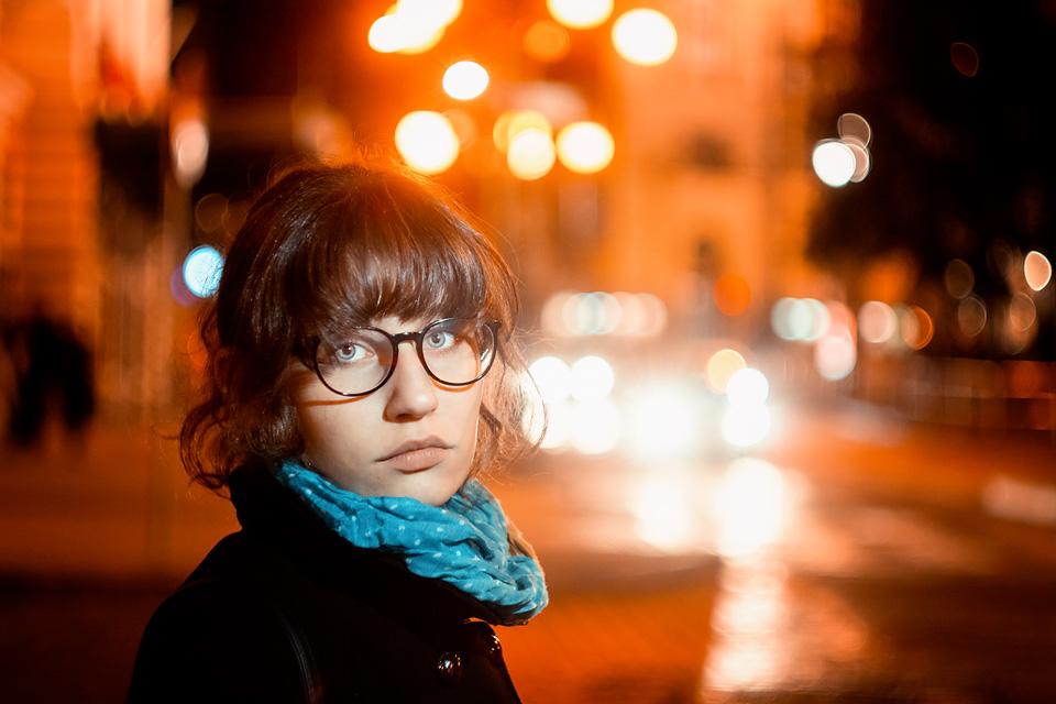 Alexandra - noční portrét