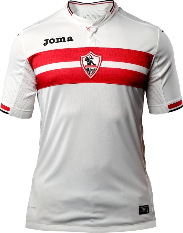 5f766ac99d Joma divulga a nova camisa titular do Zamalek. A fabricante de material  esportivo ...