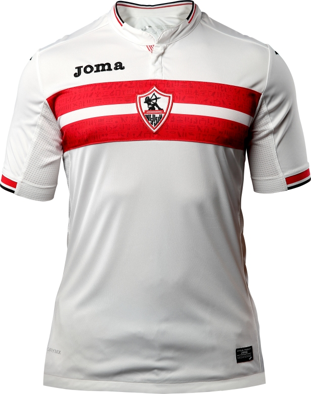 Joma divulga a nova camisa titular do Zamalek - Show de Camisas 280727ea5c454