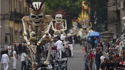 día de muertos ciudad de méxico