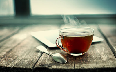 A photo of a cup of tea.