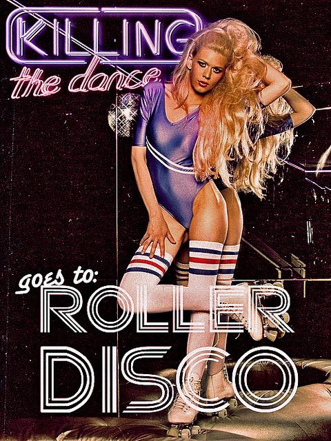 image result for best photo of disco roller disco sexy blonde