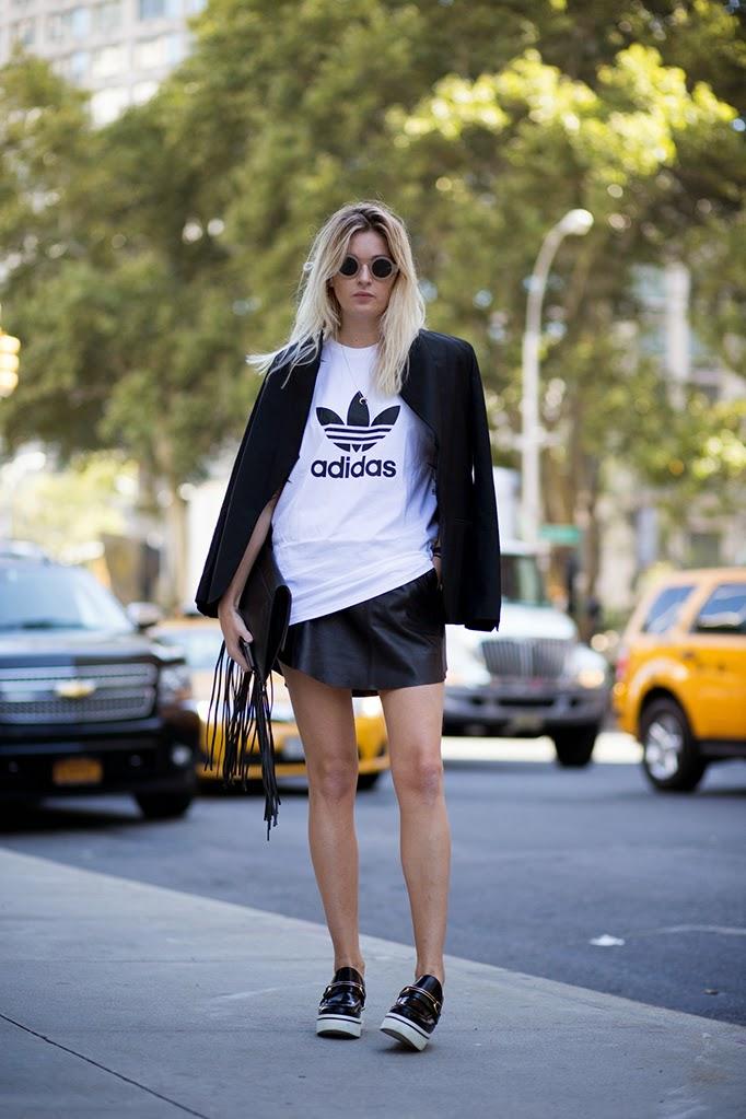 Fashion Victims Bcn: ADIDAS TEE AVAILABLE AT TOPSHOP