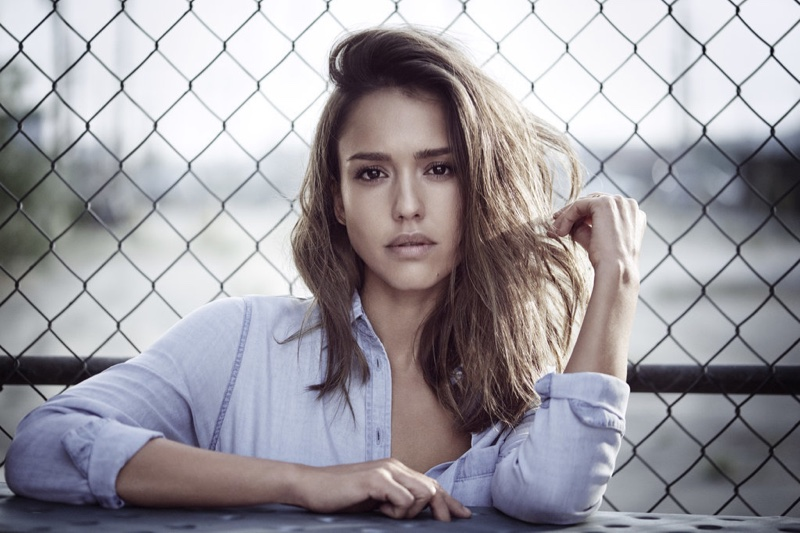Jessica Alba smoulders in denim for the DL1961 Campaign 2016