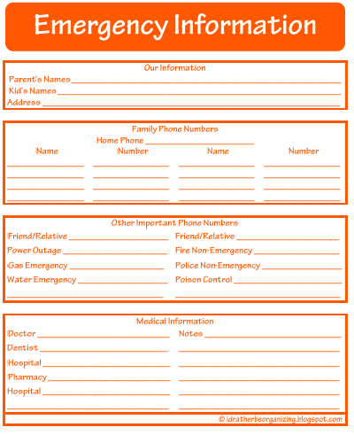contact sheet template list templates download image printable – Contact Info Sheet Template