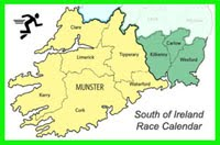 South of Ireland Race Calendar