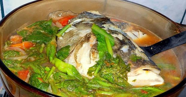 Sinigang Na Ulo Ng Maya-Maya Sa Miso Recipe