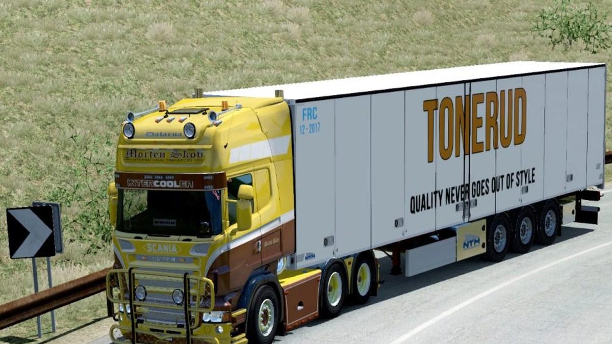 Scania RJL Morten Skov Skin