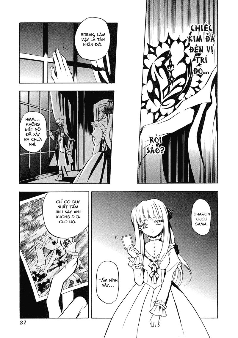 Pandora Hearts chương 005 - retrace: v clockwise doom trang 33