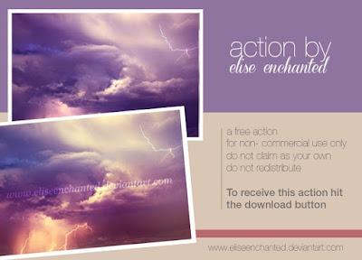 Sky Photoshop Action ATN