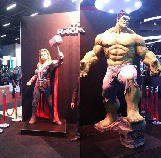 Thor: Ragnarok e Homem-Aranha: De Volta ao Lar da Comic Con Experience