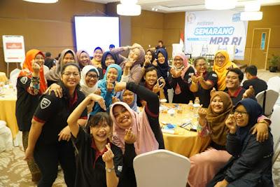 MPR RI Sosialisasikan 4 Pilar Bangsa kepada Netizen Semarang